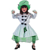 Disfraz de novia Frankenstein niña