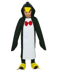 Disfraz de pingüino con pajarita infantil