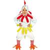 Disfraz de pollito blanco infantil