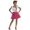 Disfraz de Hello Kitty tutú rosa para niña