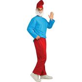Disfraz de Papá Pitufo adulto