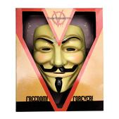 Masque V pour Vendetta de luxe