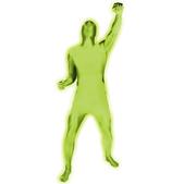 Costume verte lumineux Morphsuit