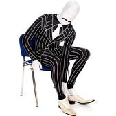 Disfraz de gángster Morphsuit
