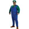 Disfraz de Luigi talla grande