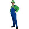 Disfraz de Luigi Deluxe talla grande