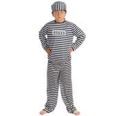 Disfraz de prisionero para niño