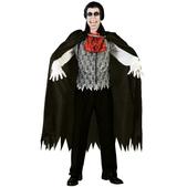 Disfraz de vampiro sorprendido