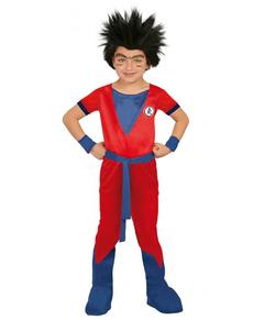 Disfraz de guerrero Saiyajin para niño