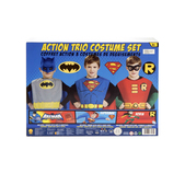 Kit de Batman - Robin - Superman para niño