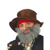 Barba canosa de mendigo