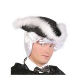 Sombrero de almirante de fieltro