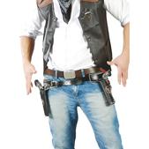 Cartuchera con pistolas de vaquero