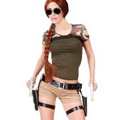 Cartuchera con pistolas