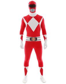 Disfraz de Power Ranger Rojo Morphsuit