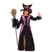 Disfraz de bruja chistera niña