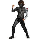 Disfraz del Soldado de Invierno musculoso para niño