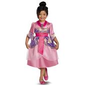 Disfraz de Mulan para niña