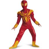 Disfraz de Ultimate Iron Spiderman musculoso para niño