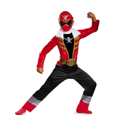 Disfraz de Power Rangers Super Megaforce rojo classic para niño