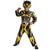 Disfraz de mini Bumblebee Transformers 4 La Era de la Extinción para niño