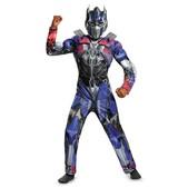 Disfraz de Optimus Prime Transformers 4 La Era de la Extinción musculoso para niño
