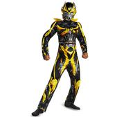 Disfraz de Bumblebee Transformers 4 La Era de la Extinción musculoso para niño
