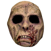 Masque de zombie répugnant halloween