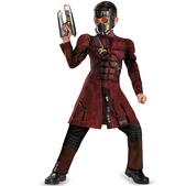 Disfraz de Star Lord Guardianes de la Galaxia musculoso para niño