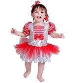 Disfraz de cabaretera bebé