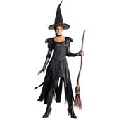 Disfraz de la Bruja Mala del Oeste Oz un Mundo de Fantasía Deluxe para adolescente