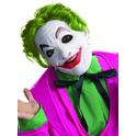Máscara de Joker Batman Classic 1966 de látex con pelo par..