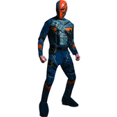 Disfraz de Deathstroke Batman Arkham Franchise musculoso para hombre