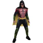 Disfraz de Robin Batman Arkham Franchise musculoso para hombre