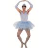 Disfraz bailarina tutú azul hombre