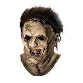 Máscara completa de Leatherface La Matanza de Texas de látex para hombre