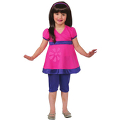 Disfraz de Dora y sus amigas para niña