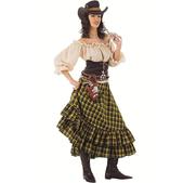 Disfraz de vaquera bandida