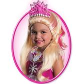 Peluca de Barbie Lumina para niña