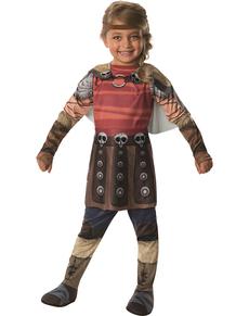 Disfraz de Astrid Cómo Entrenar a tu Dragón 2 para niña