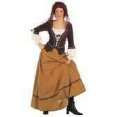 Kostüm Kantinenwirtin aus dem Mittelalter