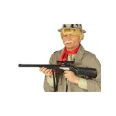 Rifle de francotirador negro