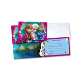Set de invitaciones Frozen