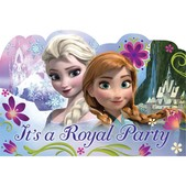 Set de invitaciones fiesta Frozen