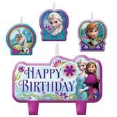 Set de velas cumpleaños Frozen