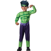 Disfraz de Hulk Vengadores Unidos para bebé