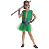 Disfraz de Donatello Tortugas ninja deluxe para niña