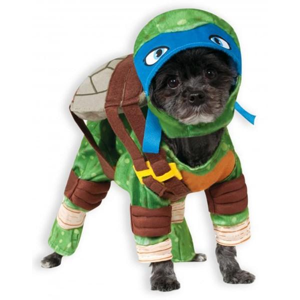 Costume leonardo tortues ninja pour chien acheter en ligne chez funidelia - Leonardo tortues ninja ...