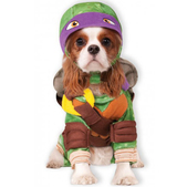 Disfraz de Donatello Tortugas ninja para perro