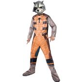 Disfraz de Raccoon Guardianes de la Galaxia classic para niño